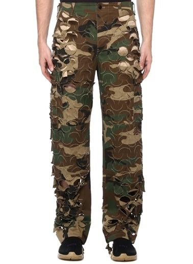 Vetements Pantolon Yeşil